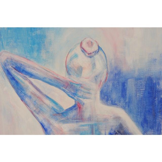 Nude Female Figure Painting - Image 2 of 4