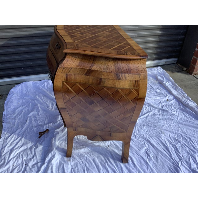 Italian Bombay Chest W/ Parquetry For Sale - Image 4 of 13