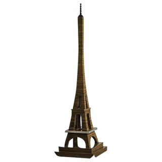 Art Deco Period Grand Scale Eiffel Tower of Rosewood, France c.1930 For Sale
