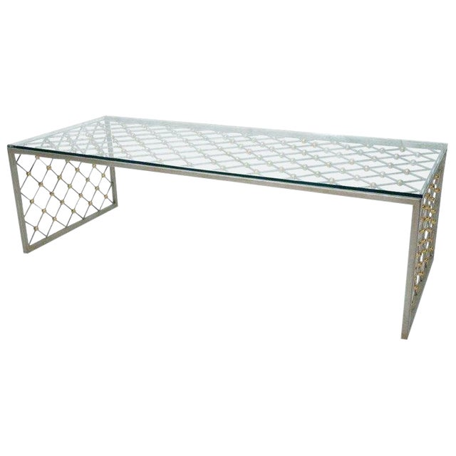 """""""Tour Eiffel"""" Coffee Table After Jean Royere For Sale"""