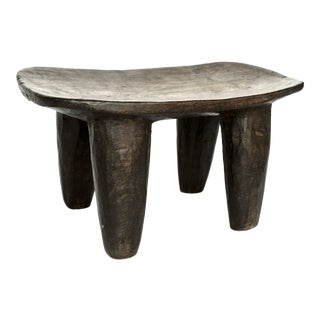 African Senufo Wood Stool For Sale