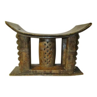 Antique Ashanti African Stool For Sale
