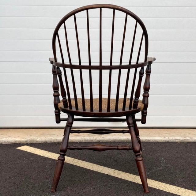 Antique Sack Back Windsor Chair For Sale - Image 4 of 13