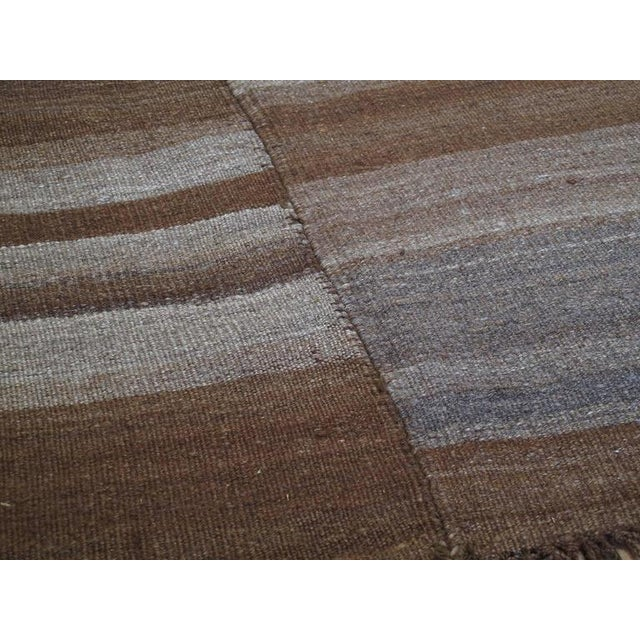"Textile ""Crazy, Lazy"" Urfa Kilim For Sale - Image 7 of 9"