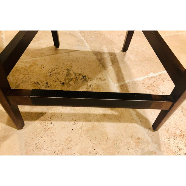 Brown Vanguard Furniture Contemporary Suede Bar Stools -Set of 3 For Sale - Image 8 of 11