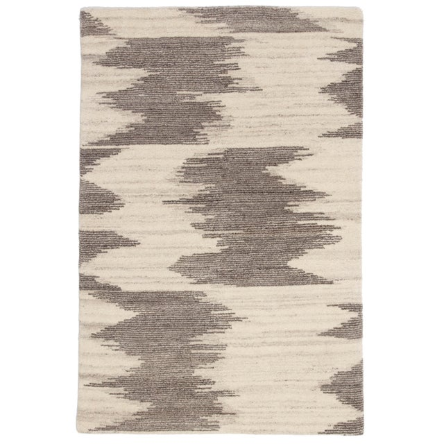 "Jaipur Living Ozark Hand-Knotted Geometric Ivory & Light Brown Area Rug - 7'9""x9'9"" For Sale In Atlanta - Image 6 of 6"
