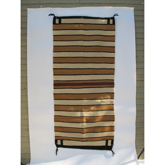 Striped Navajo Rug - 2′6″ × 5′6″ - Image 2 of 10