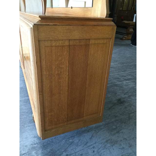 Wood 1930s Vintage French Art Deco Credenza For Sale - Image 7 of 9
