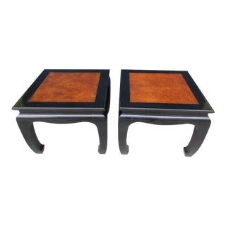 Century Furniture Chin Hua Low Side Tables - A Pair For Sale