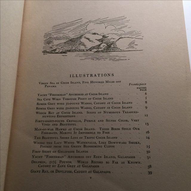 "1925 ""Tales of Fishing Virgin Seas"" by Zane Grey - Image 6 of 11"