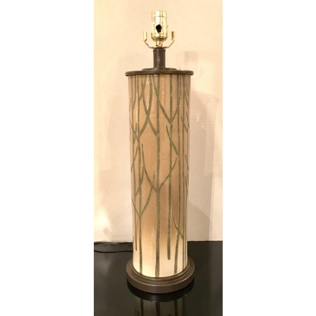 Currey & Co. Modern Nature Inspired Kellerwald Table Lamp For Sale In Atlanta - Image 6 of 6