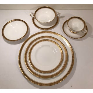 Royal Tuscan Fine Bone China 24k Gold Plated Trim and Black Trim Tableware Preview