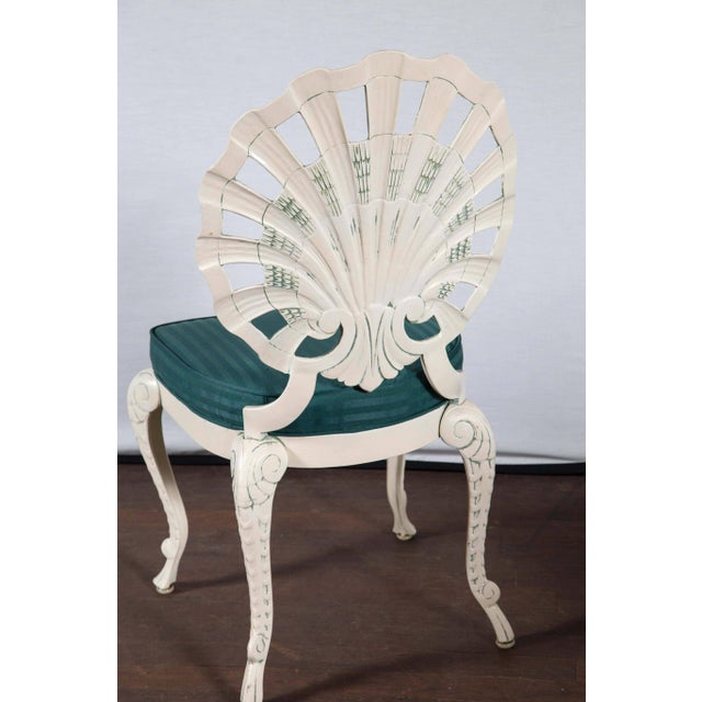 Set of Eight Shell Back Dining Chairs For Sale - Image 9 of 10