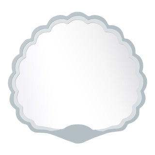 Fleur Home x Chairish Carnival Proteus Mirror in Parma Gray, 36x33 For Sale