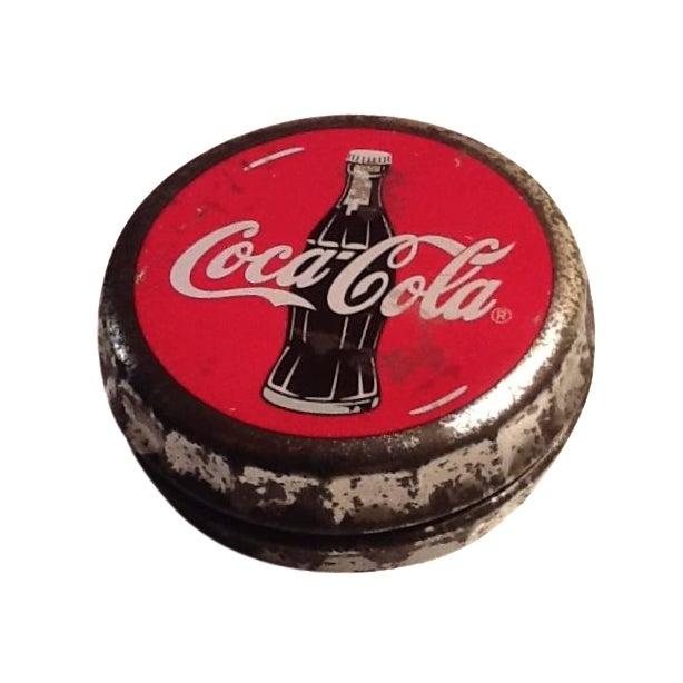 Vintage Coca Cola Cap Tin - Image 1 of 10