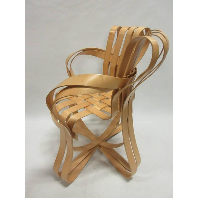 1990s 1990s Vintage Frank Gehry Cross Check Chairs- A Pair For Sale - Image 5 of 8
