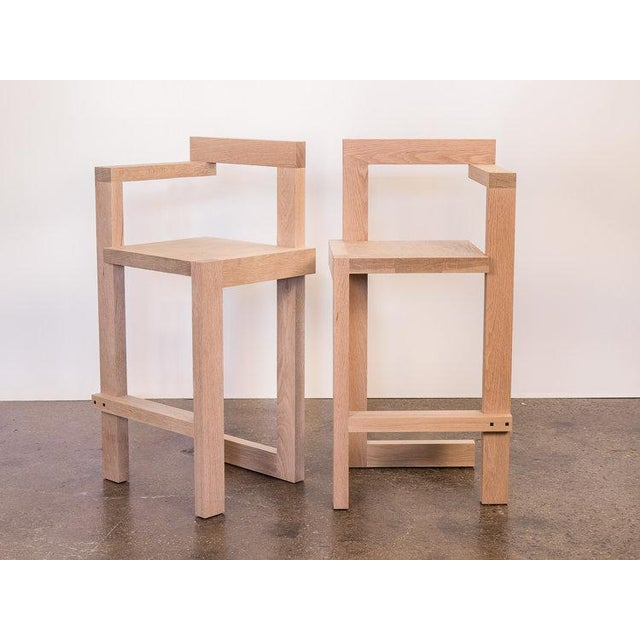Sold individually. Finely crafted, custom Steltman-inspired barstools by OAM's own, Baron Perez. The original form was...
