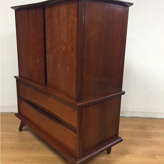 Walnut Mid-Century Dresser - Image 5 of 11