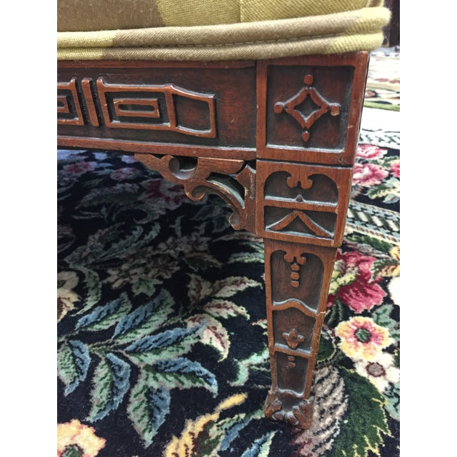 Chinese 1920's Baker Chippendale Sofa For Sale - Image 3 of 11