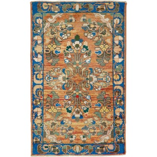 """Vintage Persian Malayer Rug – Size: 2' 1"""" X 3' 5"""" For Sale"""