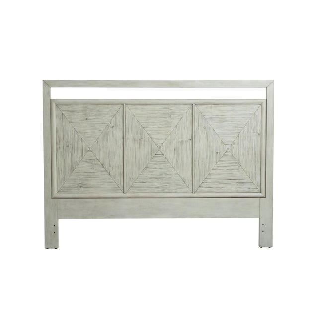 Contemporary Century Furniture Del-Ray Headboard Only, Peninsula Finish For Sale - Image 3 of 3