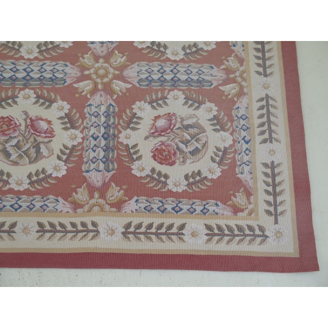 1980s Aubusson Room Size Rug - 8' X 12' For Sale - Image 11 of 13