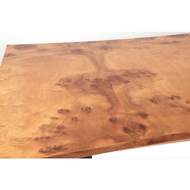 Phenomenal Figural Burl Wood Dining Table by Romweber - Image 5 of 6