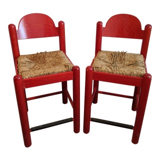 "1960s Vico Magestretti ""Carimate"" Counter Stools - a Pair For Sale"