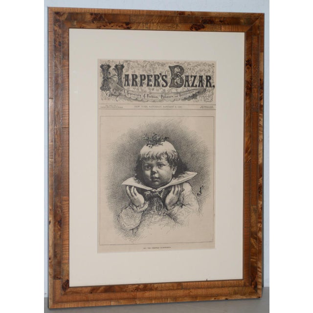 "1880s ""See! The Christmas Plum-Pudding"" Illustration by Thomas Nast for Harper's Weekly For Sale - Image 10 of 10"