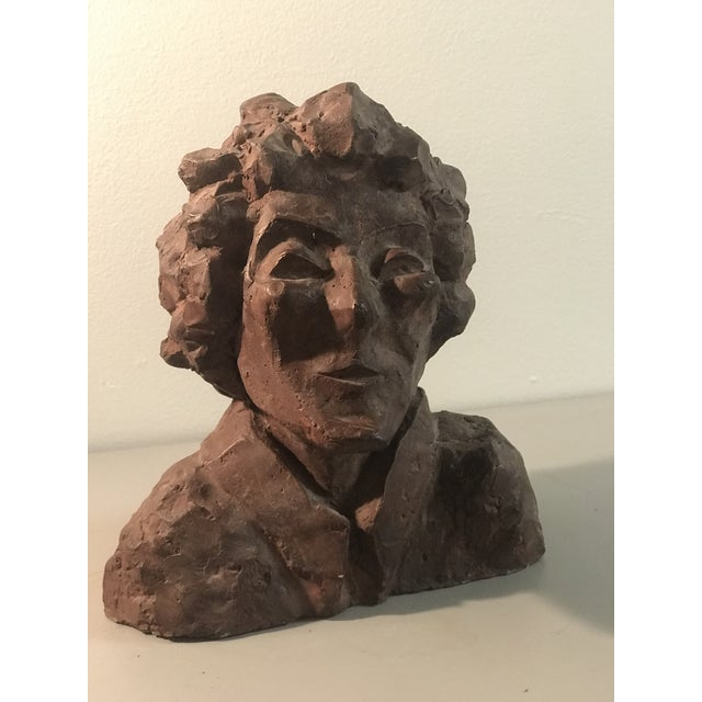 """Figurative Mid-Century Sculpted Female """"Betty Rice Stein"""" Bust For Sale - Image 3 of 3"""
