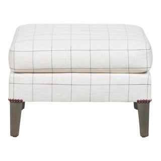 Thom Filicia for Vanguard Furniture Geddes Ottoman For Sale