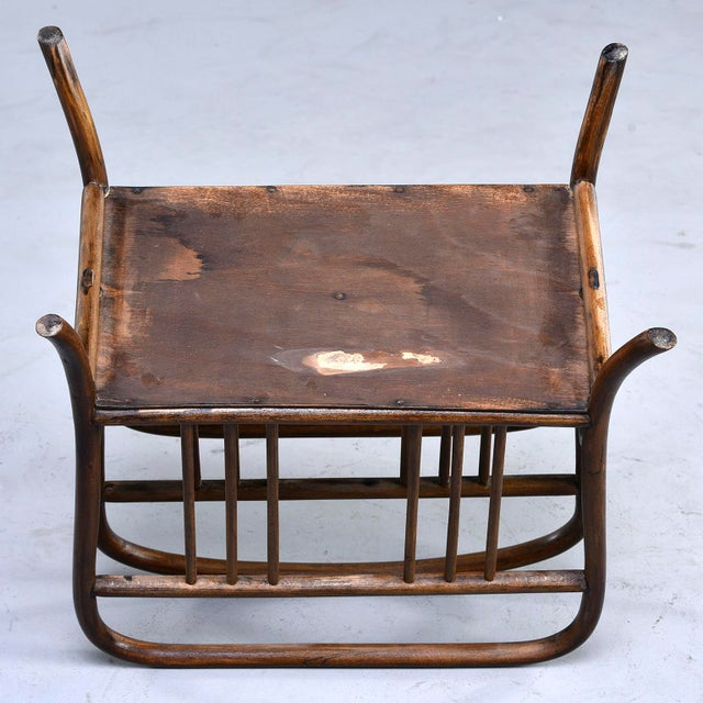 Early Thonet Bentwood Magazine Rack For Sale - Image 10 of 12