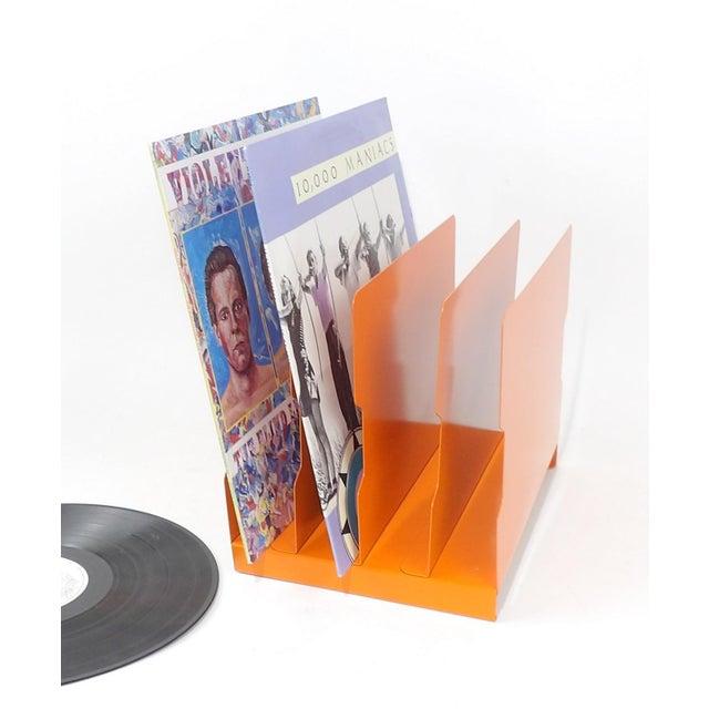 Orange Metal Desk Organizer - Image 2 of 9