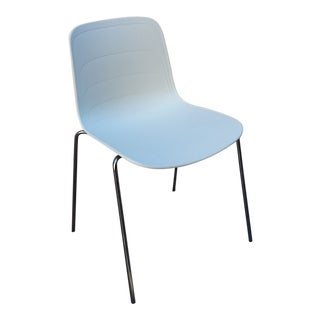 Contemporary Lammhults Grade Stacking Shell Chair For Sale