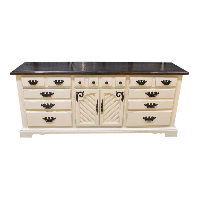 Thomasville Shabby Cottage Chic Dresser - Image 1 of 11