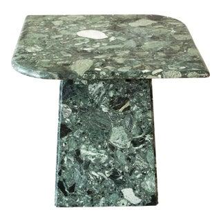 Vintage Italian Gian Pierre Marble Side Table For Sale