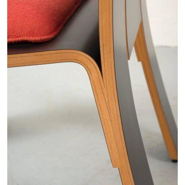 Red Pair of Robert Venturi Chippendale Chairs for Knoll For Sale - Image 8 of 10
