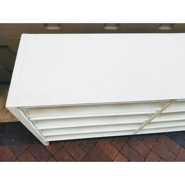 White Paul Laszlo Mid-Century Mahogany Dresser For Sale - Image 8 of 11