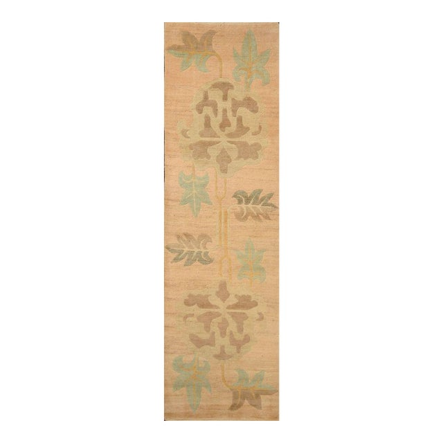 Serene Geometric Runner Rug - 3' X 11' - Image 1 of 6