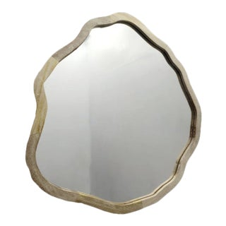 Aura London Willow Wooden Rustic Mirror For Sale