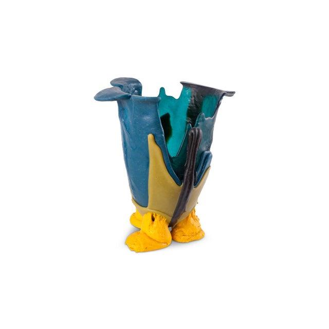 Gaetano Pesce Gaetano Pesce Mulitcolored Resin Vase - 1996 For Sale - Image 4 of 10