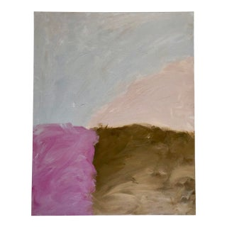 Cotton Candy Colored Abstract by Virginia Chamlee For Sale