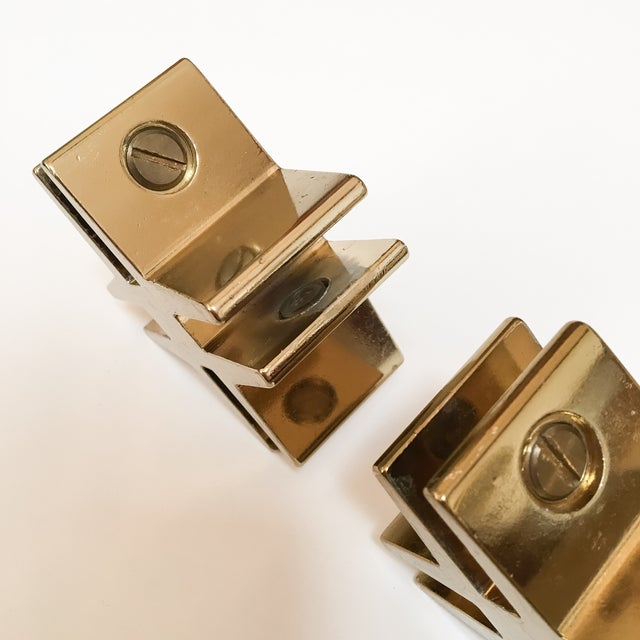 Brass Hashtags with Screw Detail - Pair - Image 7 of 9