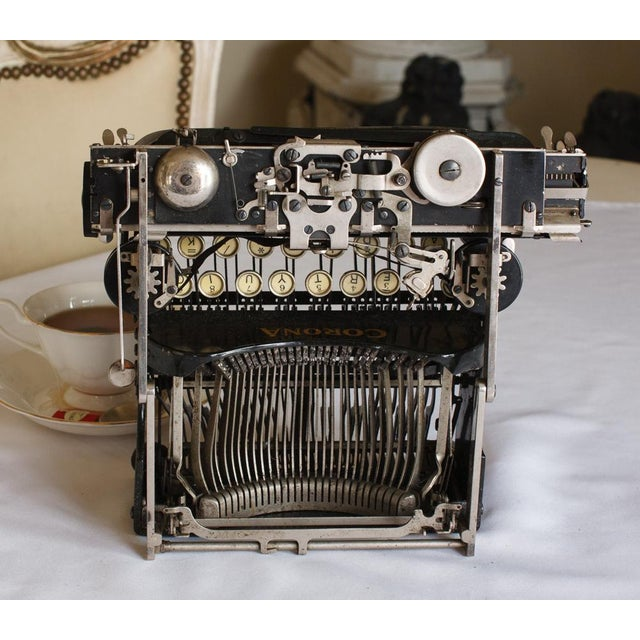 1912 Corona Portable Folding Typewriter For Sale In San Francisco - Image 6 of 9