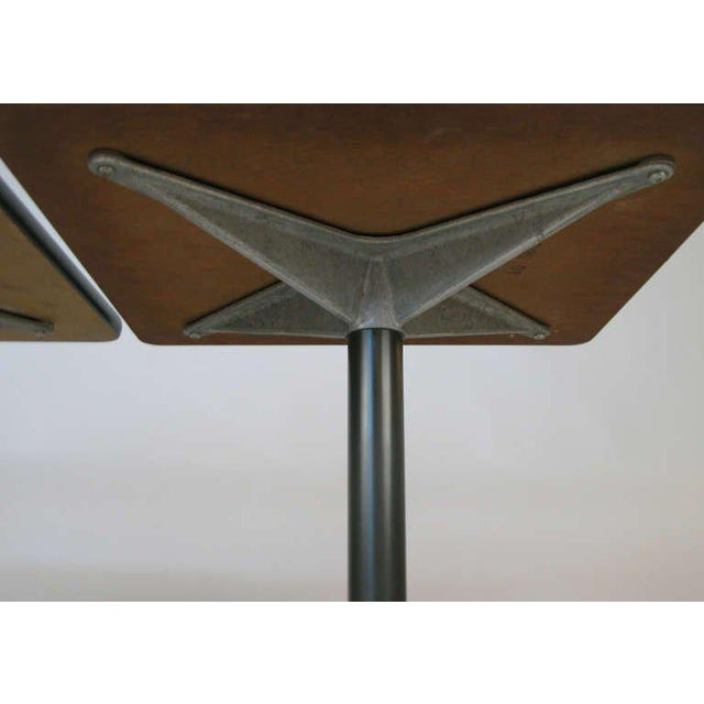 Eames for Herman Miller Aluminum Group Tables - a Pair For Sale In New York - Image 6 of 8