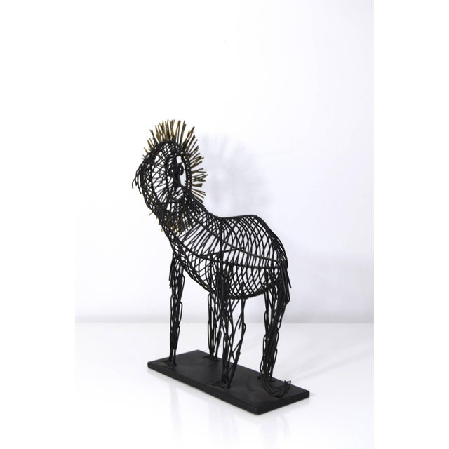 Curtis Jere Style Sculpture of a Lion - Image 7 of 8