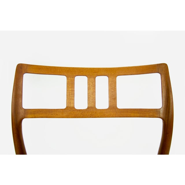 Niels O. Møller Teak Model 79 Dining Chairs - Set of 4 For Sale - Image 11 of 12