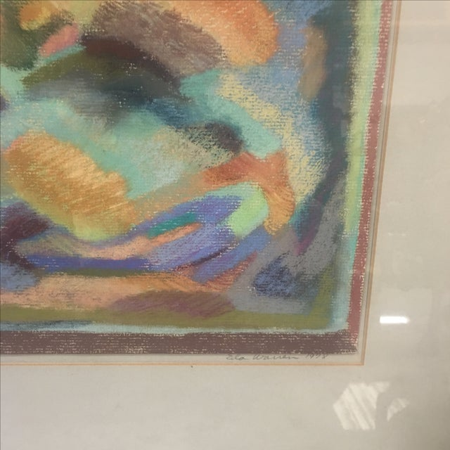 Original Pastel Abstract Artwork by Eda Warren - Image 3 of 6