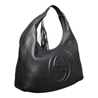 Gucci Soho Black Hobo Bag For Sale