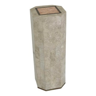 Tessellated Stone Pedestal Table For Sale